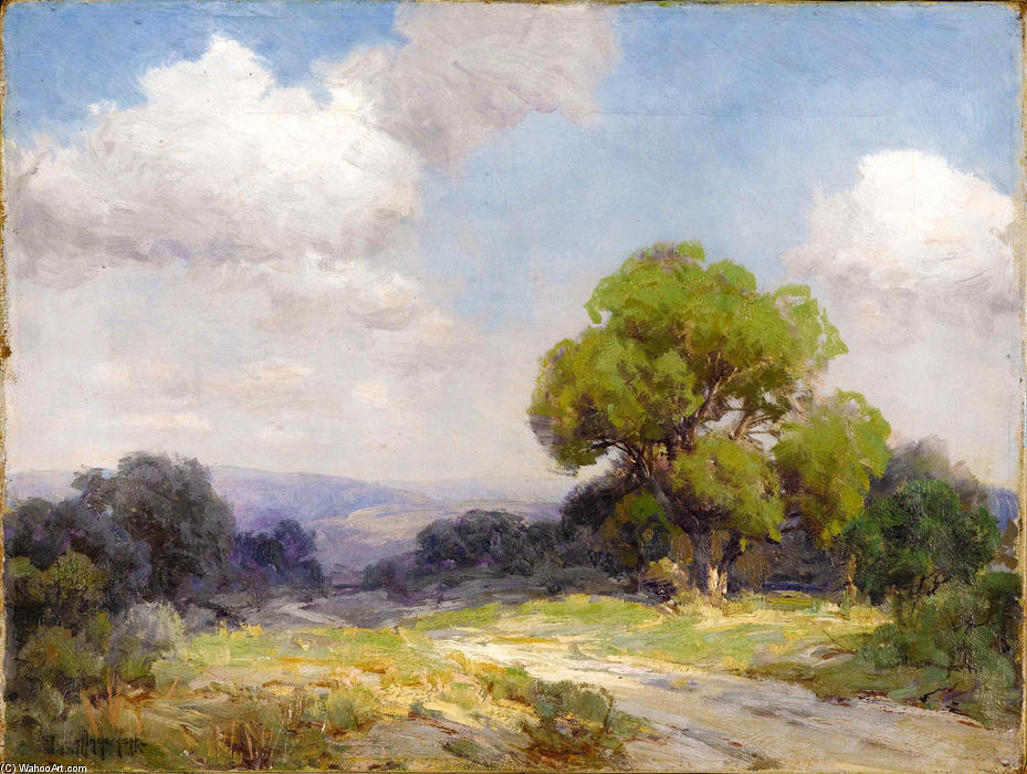famous painting Morning in the Hills Southwest Texas of Robert Julian Onderdonk