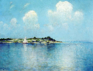 Robert Julian Onderdonk - On Long Island Sound near Shelter Island