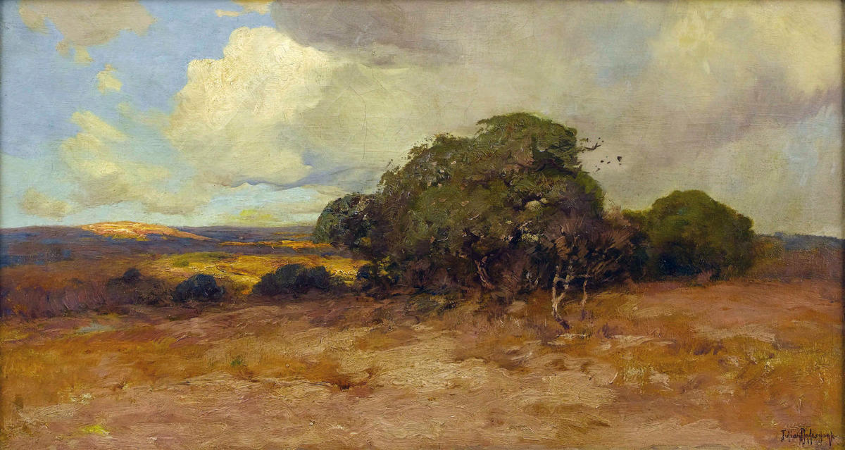 famous painting Texas Dry Country of Robert Julian Onderdonk