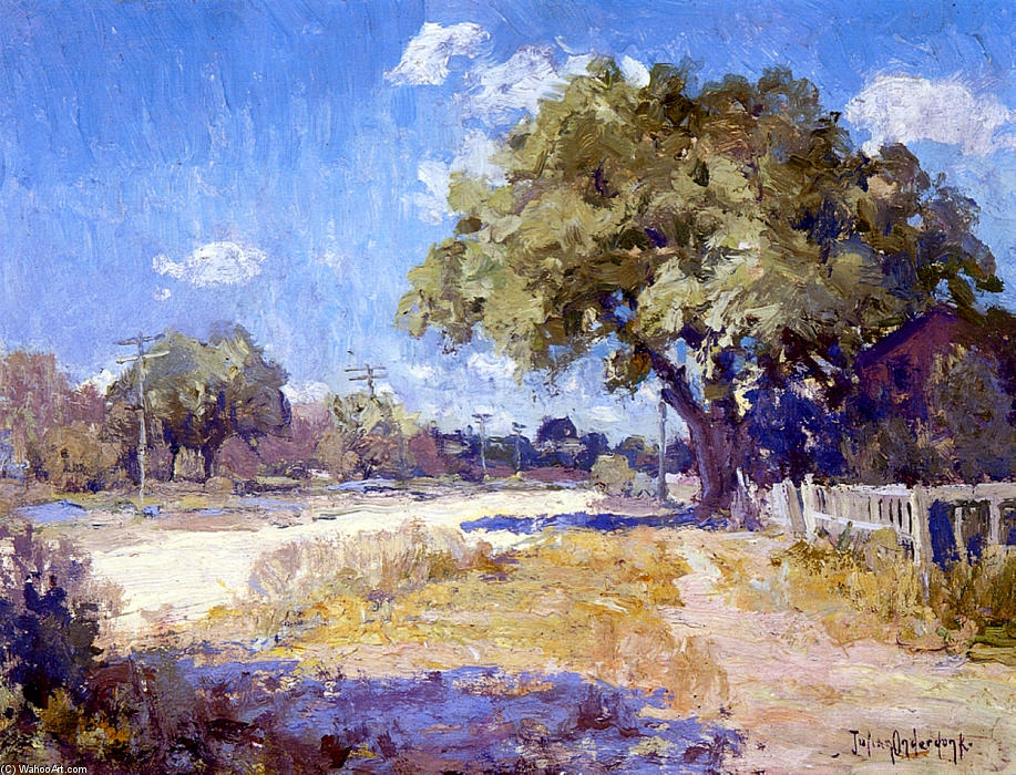 famous painting Texas Landscape of Robert Julian Onderdonk