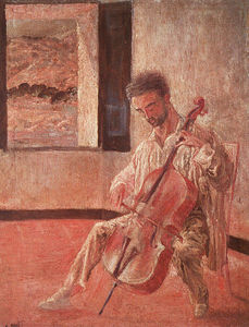 Salvador Dali - Portrait of the Cellist Ricard Pichot