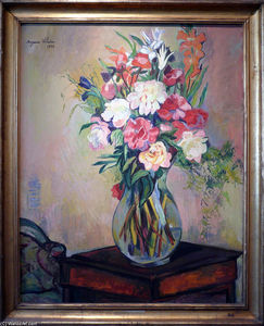 Suzanne Valadon - Bouquet of flowers
