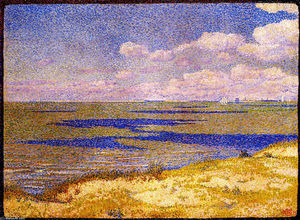 Theo Van Rysselberghe - View of the River Scheldt