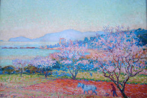 Theo Van Rysselberghe - The Almond Flowers