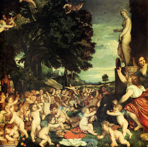 Tiziano Vecellio (Titian) - The Worship of Venus