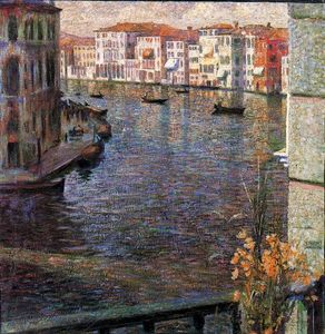 Umberto Boccioni - The Grand Canal in Venice