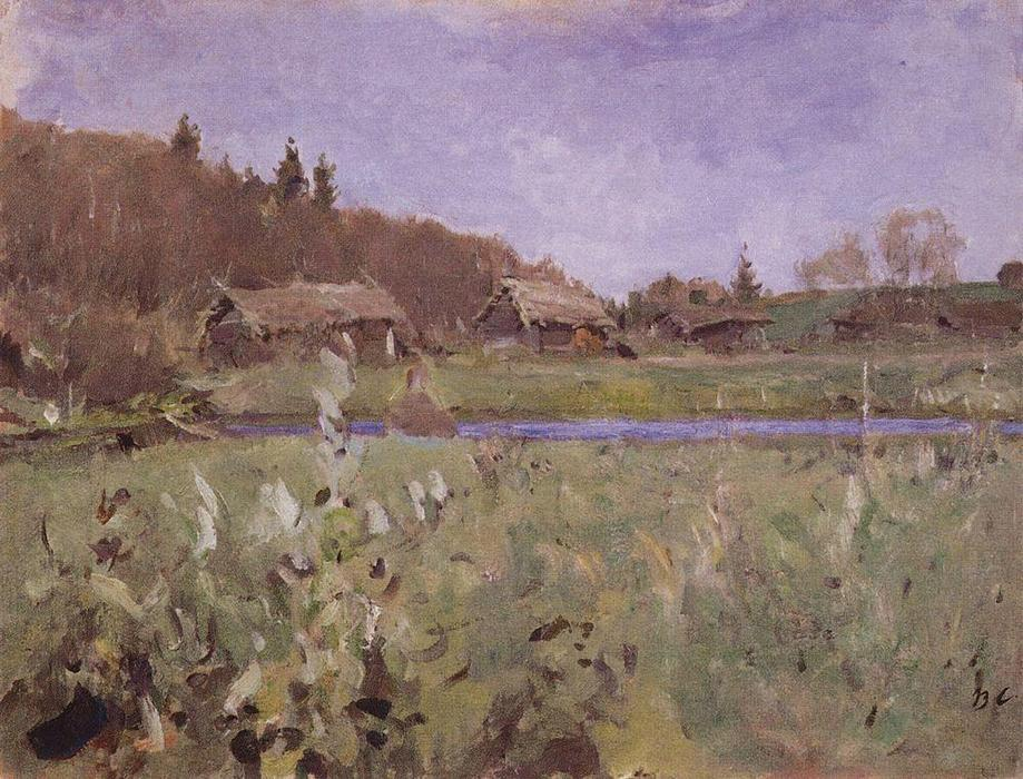 famous painting Sheds of Valentin Alexandrovich Serov