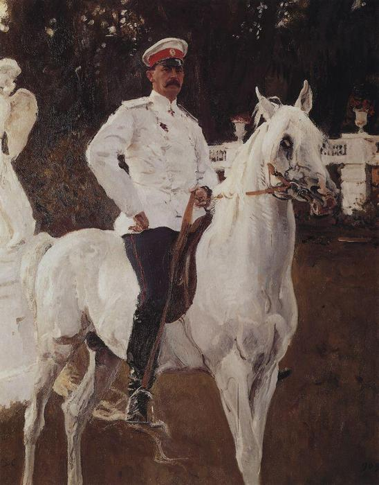 famous painting Portrait of Prince Felix Yussupov of Valentin Alexandrovich Serov