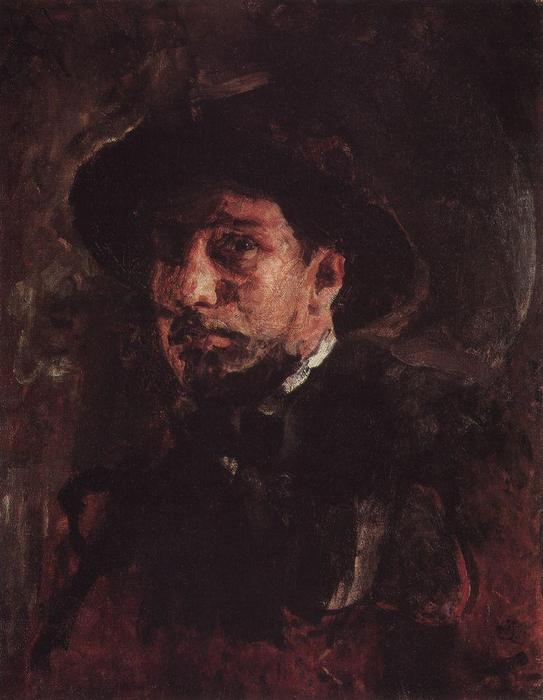 famous painting Self-Portrait of Valentin Alexandrovich Serov