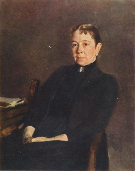 famous painting Portrait of P.D. Antipova of Valentin Alexandrovich Serov
