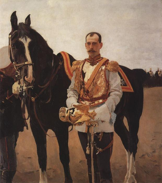 famous painting Portrait of Grand Duke Paul Alexandrovich of Valentin Alexandrovich Serov