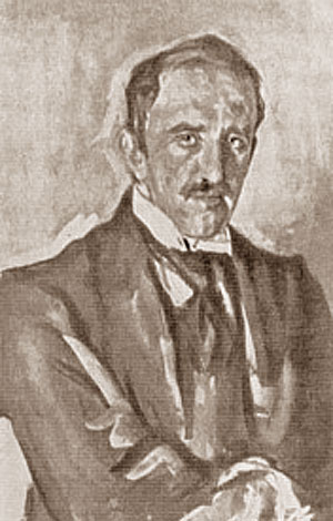 famous painting Portrait of Paolo Troubetzkoy of Valentin Alexandrovich Serov