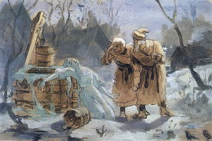Vasily Grigoryevich Perov - Melting Snow Maiden