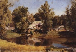 Vasily Dmitrievich Polenov - Upper pond in Abramtsevo