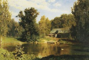 Vasily Dmitrievich Polenov - Pond in Abramtsevo