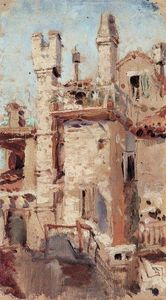 Vasily Dmitrievich Polenov - Venice. Pipes.