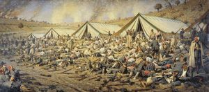 Vasily Vasilevich Vereshchagin - After the attack. Dressing station near Plevna