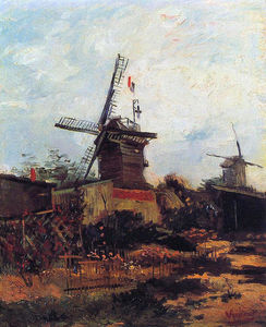 Vincent Van Gogh - The Mill of Blute End