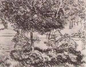 Vincent Van Gogh - Trees and Shrubs