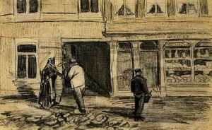 Vincent Van Gogh - The Bakery in de Geest