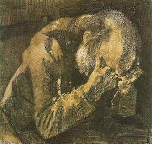 Vincent Van Gogh - Man with his head in his hands