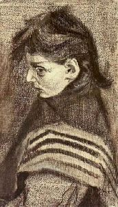 Vincent Van Gogh - Girl with Shawl, Half-Figure