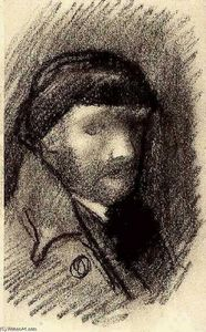 Vincent Van Gogh - Self-Portrait with Cap