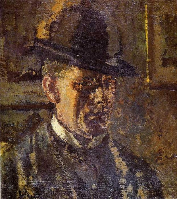 famous painting The Juvenile Lead (Self Portrait) of Walter Richard Sickert