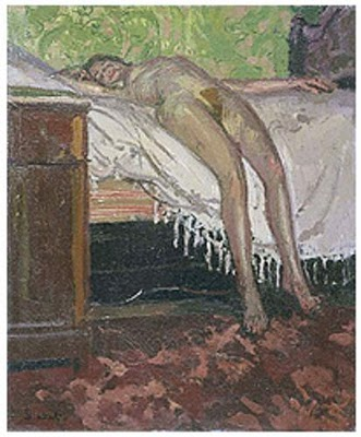 famous painting Figure of Walter Richard Sickert