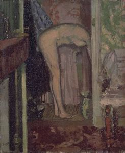 Walter Richard Sickert - Woman Washing her Hair