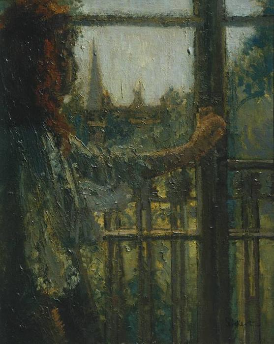 famous painting Girl at a Window, Little Rachel of Walter Richard Sickert