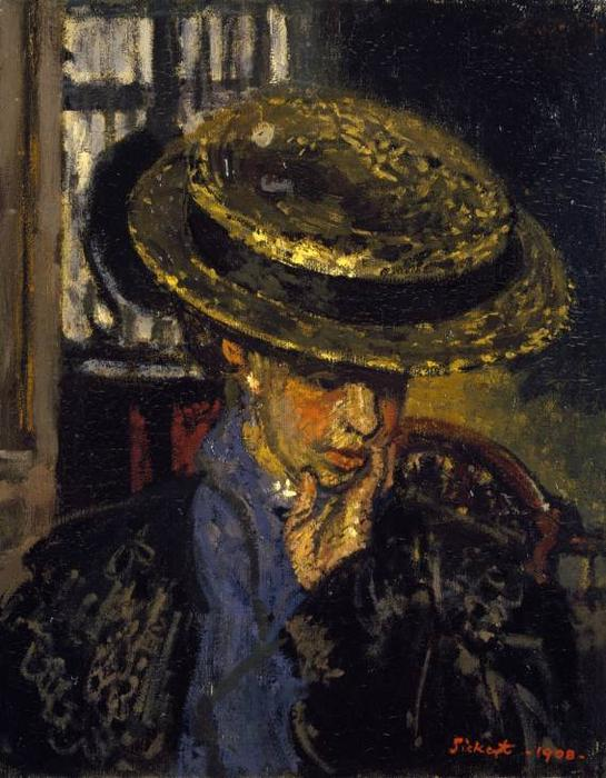 famous painting The American of Walter Richard Sickert