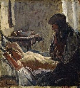 Walter Richard Sickert - The Camden Town Murder