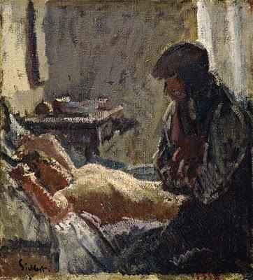 famous painting The Camden Town Murder of Walter Richard Sickert