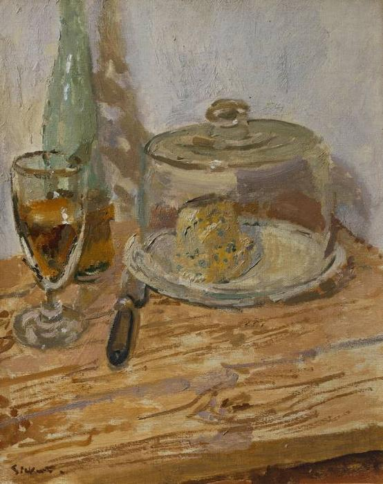 famous painting Roquefort of Walter Richard Sickert