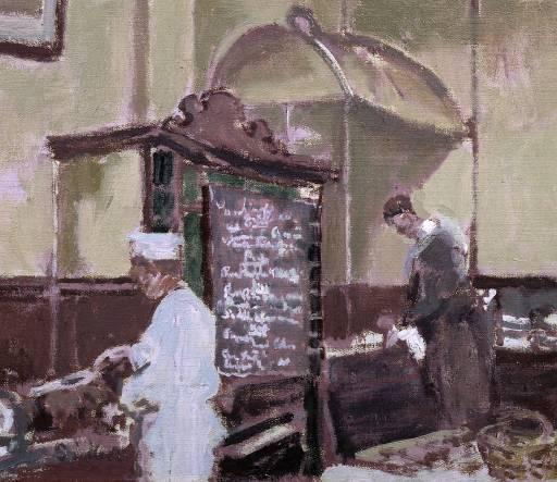 famous painting The Tottenham Distillery of Walter Richard Sickert