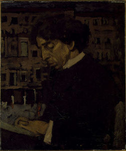 Walter Richard Sickert - Portrait of Israel Zangwill