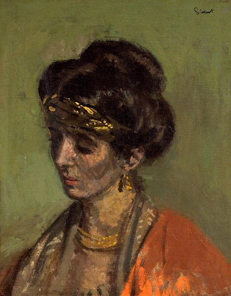 famous painting Portrait of Lady Noble of Walter Richard Sickert