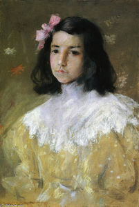 William Merritt Chase - The Pink Bow