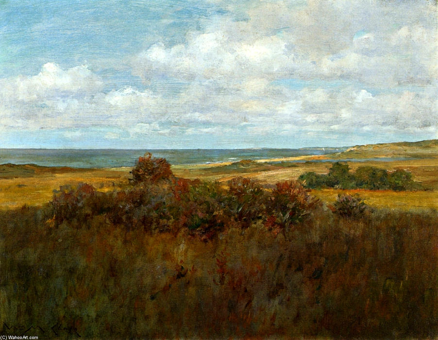 famous painting Shinnecock Landscape 04 of William Merritt Chase