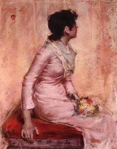 William Merritt Chase - Surprise