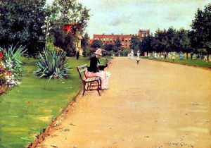 William Merritt Chase - The Park 02