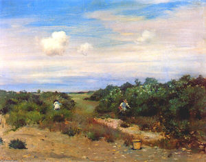 William Merritt Chase - Shinnecock Hills, Long Island