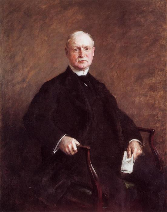 famous painting Colesberry Purves of William Merritt Chase