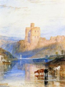 William Turner - Norham Castle on the Tweed
