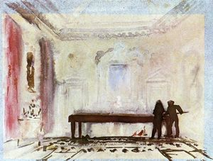 William Turner - Playing Billiards, Petworth