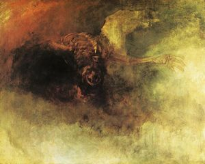 William Turner - Death on a Pale Horse