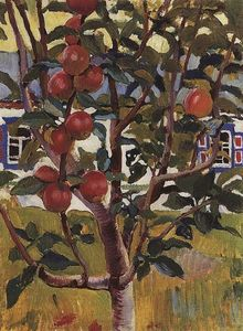 Zinaida Serebriakova - Apple tree