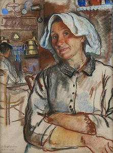 Zinaida Serebriakova - The pride of the housewife