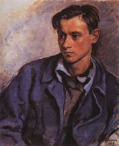 Zinaida Serebriakova - Portrait of his son Alexander